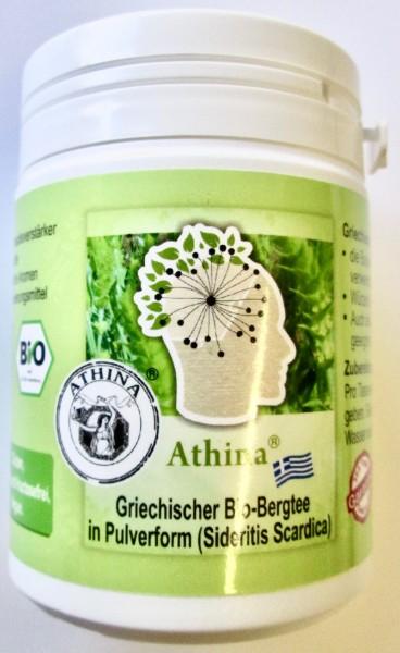 Athina® Griechischer Eisenkraut in Pulverform 75 g Bio Bergtee Sideritis Scardica Vegan - Bio. DE-ÖK