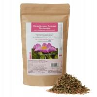 1 x 100 g Cistus incanus Teekraut Zistrosentee aus Wildsammlung in Griechenland.