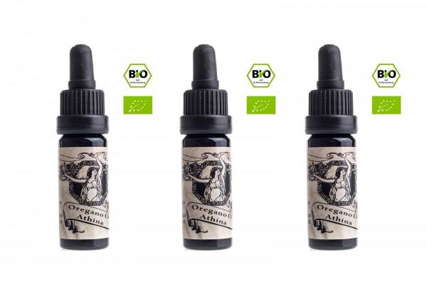 Athina® Oregano Öl Bio, 3 x 10 ml
